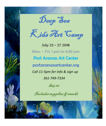 Deep Sea Camp July 2018
