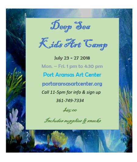 Deep Sea Camp July 2018