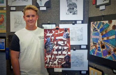 Student Art Show 2017 c/o Laura Griffith