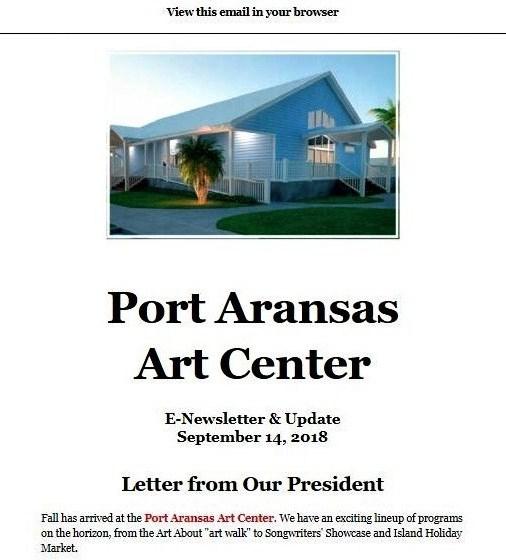 Art Center Happenings!