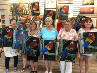 Parrothead creations! Photo by Bobbie Mussett.