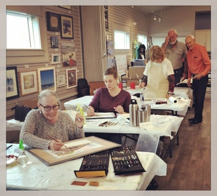 Lee Ricks' Watercolor Workshop Class