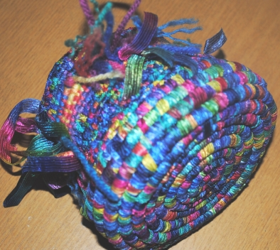 Judith Basket Rainbow
