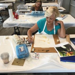 Nancy Buskey Watercolor Class Student
