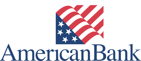 American Bank Logo - stacked