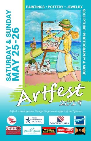 Artfest Information Poster