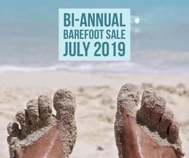 Bi-annual Barefoot Sale