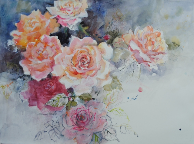 Judith-Hall-Floral-watercolor